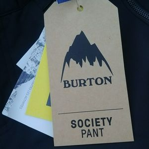 Burton Pants - Burton Society Ski/Snowboard black Pants